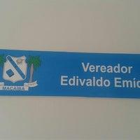 Photo taken at Gabinete Ver. Edivaldo Emidio by Denis M. on 6/25/2013