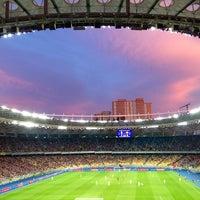 Photo taken at Olimpiyskiy Stadium by 🍀Sergey🍀 on 7/7/2013