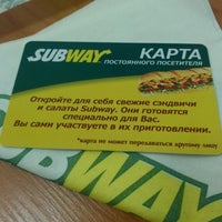 Photo taken at Subway by Max U. on 1/3/2014