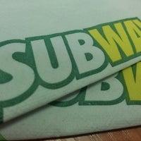 Photo taken at Subway by Max U. on 11/9/2013