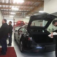 Photo taken at Tesla by Kana L. on 1/13/2017
