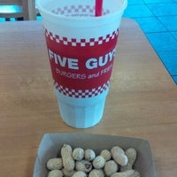 Photo taken at Five Guys by Darcy B. on 6/1/2015