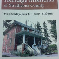 Photo taken at Strathcona County Library by Darcy B. on 7/6/2016