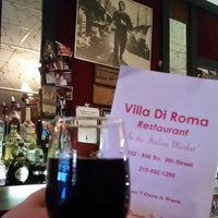 Photo taken at Villa Di Roma by Ryan S. on 12/31/2014