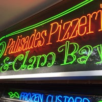 Photo taken at Palisades Pizzeria & Clam Bar by Russ P. on 10/28/2013