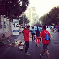 Photo taken at Peddar Road by Moksh J. on 1/20/2013