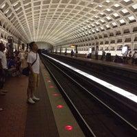 Photo taken at Pentagon City Metro Station by Jacinta A. on 6/22/2013