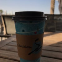Photo taken at Caribou Coffee by hassan b. on 1/2/2018