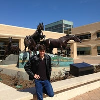 Photo taken at Horses Sculpture by Robert L. on 2/23/2013