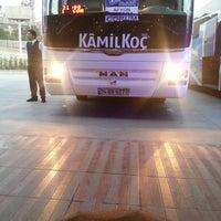 Photo taken at Kamil Koç Terminali by Cansu T. on 7/9/2013