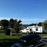 Photo taken at Timaru Top 10 Holiday Park by Phillip R. on 4/9/2013