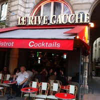 Photo taken at Le Rive Gauche by Djiby S. on 4/6/2014