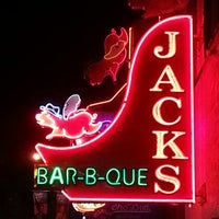Photo taken at Jack's Bar-B-Que by Alison H. on 10/20/2012