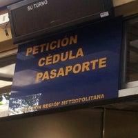 Photo taken at Servicio de Registro Civil e Identificación by Jocelyn T. on 2/20/2013