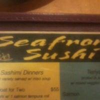 Photo taken at Seafront Sushi by Mi N. on 3/26/2013