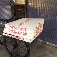 Photo taken at PIZZA SLICE 2 by Andy J. on 4/30/2018