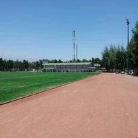 Photo taken at Estadio chilectra CAM by Eduardo P. on 12/28/2012