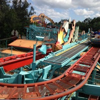 Photo taken at Primeval Whirl by Vinícius P. on 4/28/2013
