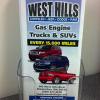... Photo Taken At West Hills Chrysler/Jeep/Dodge By John E. On 2 ...