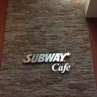 Photo taken at Subway Cafe by Gabriel P. on 7/4/2013