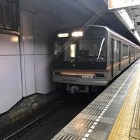 Photo taken at Sakaisuji Line Minami-morimachi Station (K13) by Yoshiro T. on 3/20/2018