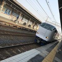 Photo taken at 美章園駅 1番のりば by Yoshiro T. on 4/1/2018