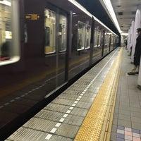 Photo taken at Sakaisuji Line Minami-morimachi Station (K13) by Yoshiro T. on 2/14/2018