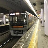 Photo taken at Sakaisuji Line Minami-morimachi Station (K13) by Yoshiro T. on 9/12/2017