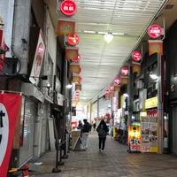 Photo taken at 十三東駅前商店街 by Yoshiro T. on 12/8/2017
