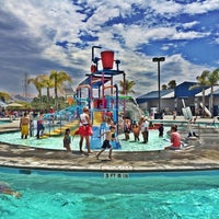 Photo taken at Aqua Adventure by Claire on 7/8/2014