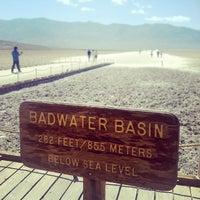 Photo taken at Badwater Basin by Thomas on 5/29/2013