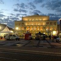 Photo taken at Augustusplatz by Peter C. on 7/11/2013