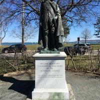 Photo taken at William Bradford Statue by Elliott L. on 3/22/2016