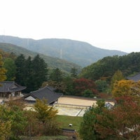 Photo taken at 보광사 (普光寺) by min ★. on 10/19/2014