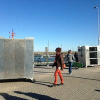 Photo taken at Spiekeroog Hafen by Stamp x. on 9/29/2013