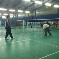 Photo taken at New Vision Badminton Academy by Mohammad F. on 5/14/2013