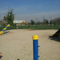 Photo taken at Parque Canino by Ana Maria J. on 5/20/2013