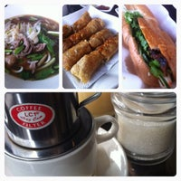 Photo taken at Saigon Cafe by Vincent A. on 7/19/2014