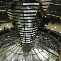 Photo taken at Reichstag by Luis P. on 2/6/2013