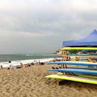 Photo taken at Urbiztondo Beach by Daniel S. on 3/22/2016