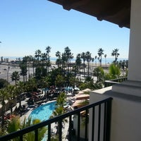 Photo taken at Hyatt Regency Huntington Beach Resort and Spa by Jd R. on 1/21/2013