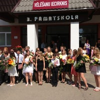Photo taken at Jelgavas 3. pamatskola by Ilimari S. on 5/30/2013