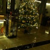 Photo taken at Hotel Delfina by Galina K. on 1/24/2015