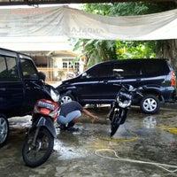 Photo taken at Jl. Ciater Raya by Anton C. on 2/7/2013
