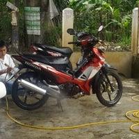 Photo taken at Jl. Ciater Raya by Anton C. on 11/8/2012