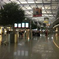 Photo taken at Dusseldorf Airport (DUS) by Devran C. on 2/10/2013
