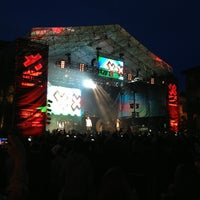 Photo taken at X Games music by Raulifer C. on 5/18/2013