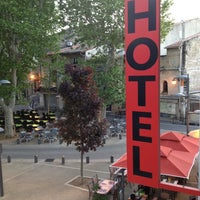 Photo taken at Hotel Le Belvedere Arles by negorum on 5/6/2013