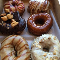 Photo taken at Vortex Doughnuts by Cara H. on 11/29/2014
