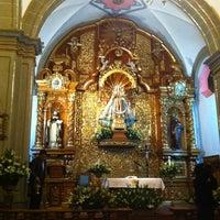 Photo taken at Parroquia de Santo Domingo de Guzmán by Armando L. on 2/24/2013